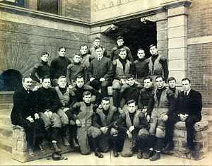 "1906 Michigan Wolverines football team - ""1906 Football Team and Substitutes"" from The Michigan Alumnus, November 1906"