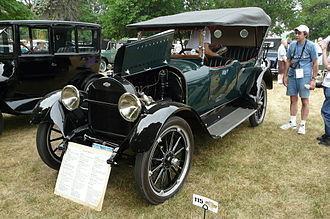 Chevrolet Series D - Image: 1918 Chevrolet Series D V 8