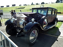 1928 Rolls Royce New Phantom sedan (9581022310).jpg
