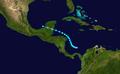 1931 Atlantic tropical storm 12 track.png