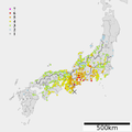 1944 Tonankai earthquake intensity.png