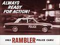 1963 Rambler Police Cars (7000742480).jpg
