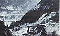 1966, ponte sul Vanoi distrutto 02.jpg