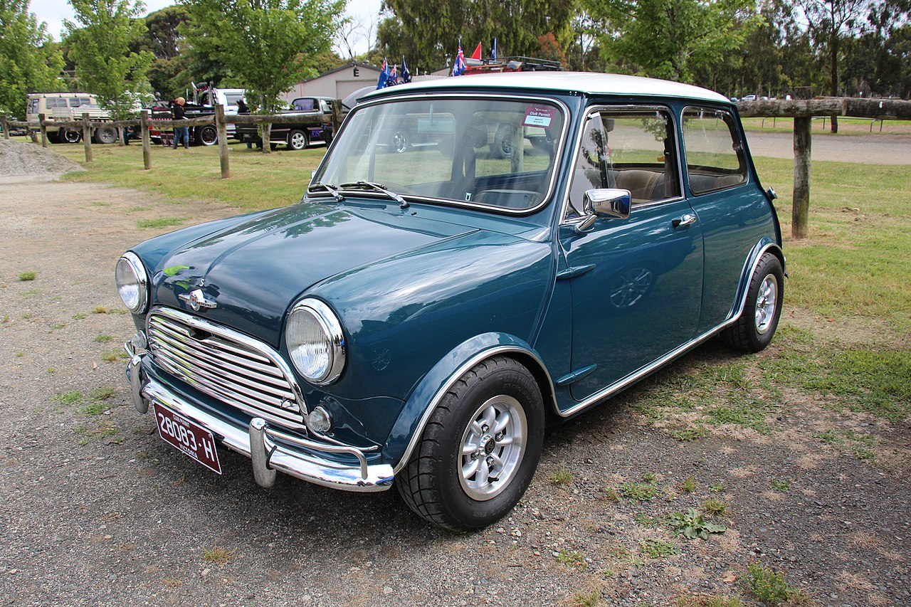 Mini 1968 mini cooper : File:1968 Morris Mini Cooper S (22558034254).jpg - Wikimedia Commons