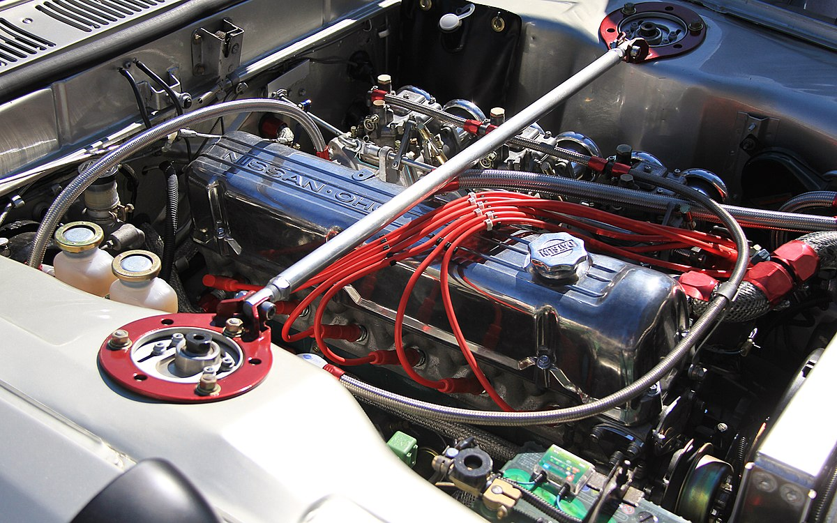 Px Nissan Skyline Gt Engine Room