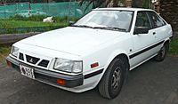 1985 Mitsubishi Cordia (AB) GSL hatchback (2009-09-17).jpg
