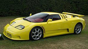 Bugatti EB 110 - Bugatti EB 110 SS (Super Sport)