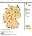 1 IÖR-Monitor Anteil unzerschnittener Freiräume 100 km² an Gebietsfläche 2014 Raster 100 m .png
