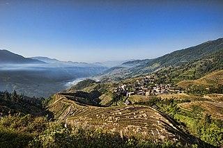 Longsheng Various Nationalities Autonomous County County in Guangxi, Peoples Republic of China