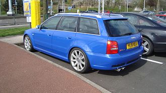 Audi RS 4 - Audi RS4 Avant (UK) finished in Nogaro Blue
