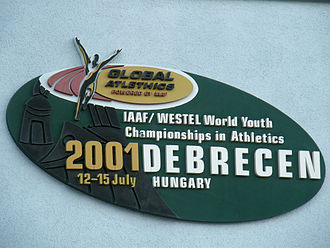 2001 World Youth Championships in Athletics - Image: 2001 IAAF World Youth Championships