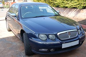Rover 75 - 2002MY Rover 75 1.8 Saloon front view