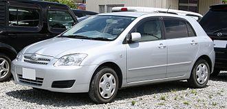 Toyota Corolla (E120) - 2004–2006 Toyota Allex (Japan)