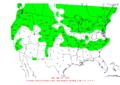 2006-05-21 24-hr Precipitation Map NOAA.png