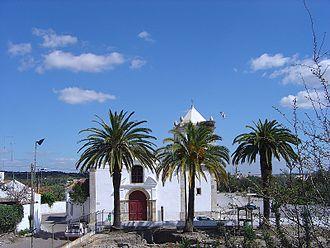 Alcácer do Sal - Santa Maria do Castelo, in the city square of Alcácer
