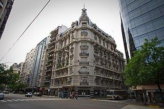 Avenida Córdoba street in Buenos Aires, Argentina