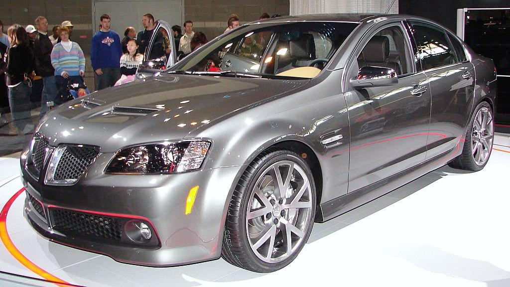 File2008 Pontiac G8 Gt Chicago Showcarg Wikimedia Commons