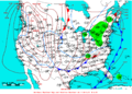 2009-01-19 Surface Weather Map NOAA.png
