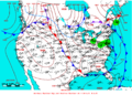 2009-04-22 Surface Weather Map NOAA.png