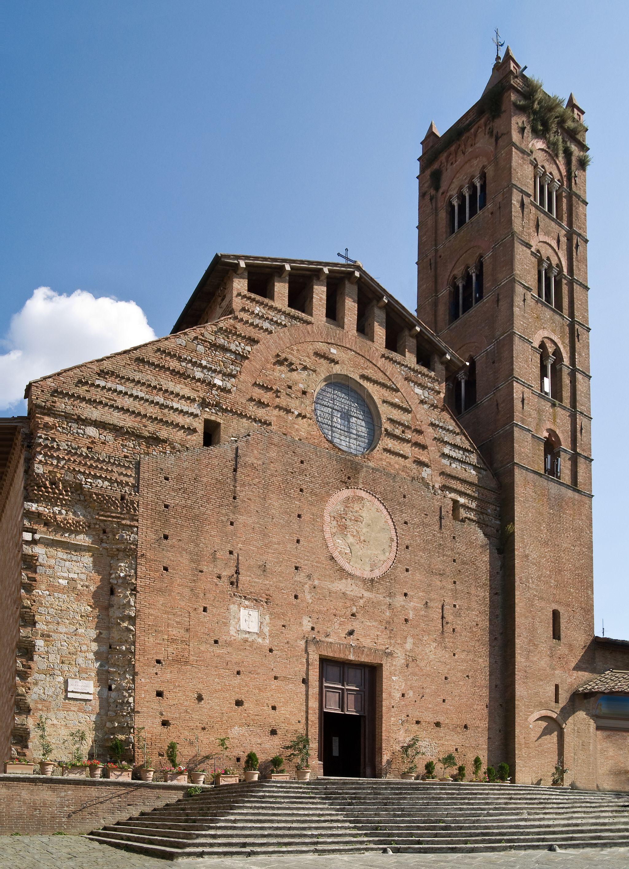 La basilica di San Clemente in Santa Maria dei Servi, Siena