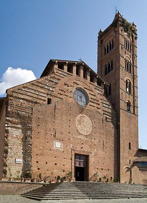 Santa Maria dei Servi (Siena) - Santa Maria dei Servi — Romanesque façade.