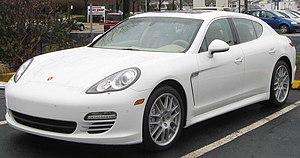 2010 Porsche Panamera 4S photographed in Silve...