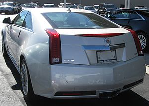 Cadillac CTS - 2011 Cadillac CTS coupe