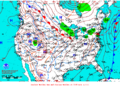2013-01-18 Surface Weather Map NOAA.png
