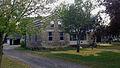 2013-09-14 Richardson-Brinkman Cobblestone House, 608 W. Milwaukee Rd., Clinton, WI, Front View.jpg