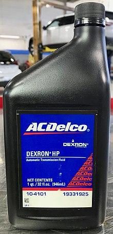 Automatic Transmission Fluid >> DEXRON - Wikipedia