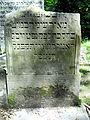 2013 Old jewish cemetery in Lublin - 25.jpg