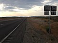 2014-07-17 18 20 41 View north along Nevada State Route 318 about 16.6 miles north of the Nye County Line at the junction with Nevada State Route 895 in Preston, Nevada.JPG