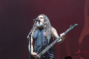 Tom Araya - Tom Araya at Nova Rock 2014
