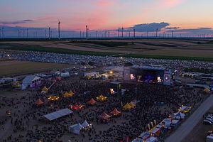 Nova Rock Festival - Blue Stage at Nova-Rock 2014