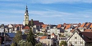 Bystrzyca Kłodzka - Town panorama