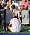 2014 US Open (Tennis) - Tournament - Michael Llodra and Nicolas Mahut (14945239367).jpg