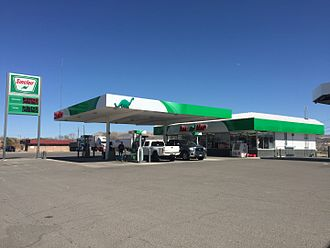 Sinclair Oil Corporation - Sinclair filling station along Idaho Street (Interstate 80 Business) near College Avenue in Elko, Nevada.