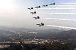 2015.2.25 공군 특수비행팀 블랙이글 Black Eagles of ROK AirForce (16525129709).jpg