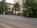 2017-07-17 Dresden Dobritz Pirnaer Landstraße Abzweig nach Reick Beschilderung a.jpg