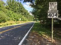 2017-08-11 16 08 33 View east along Maryland State Route 404 Alternate (Old Queen Anne Highway) at Maryland State Route 309 (Cordova Road) along the border of Queen Anne's County, Maryland and Talbot County, Maryland.jpg