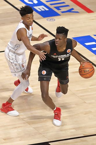 Mohamed Bamba - Bamba at the 2017 McDonald's All-American Game