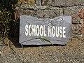 2018-06-28 Sign outside the old school house, Church Street, Trimingham.JPG