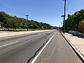 2018-07-07 16 19 10 View south along U.S. Route 1 and U.S. Route 9 (Tonnele Avenue) just south of the junction with New Jersey State Route 3 (Secaucus Bypass) in North Bergen Township, Hudson County, New Jersey.jpg