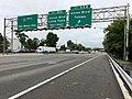 2018-07-25 09 20 49 View west along Interstate 80 (Bergen-Passaic Expressway) at Exit 55B (Union Boulevard, Totowa) in Totowa, Passaic County, New Jersey.jpg