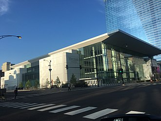 Wintrust Arena - Wintrust Arena in May 2018