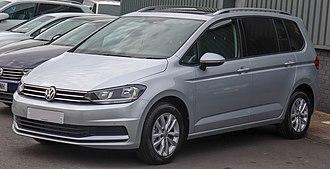 Minivan - Volkswagen Touran, a compact MPV