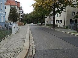 Grillparzerstraße in Dresden