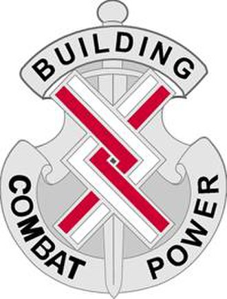20th Engineer Brigade (United States) - Image: 20Engr Bde DUI