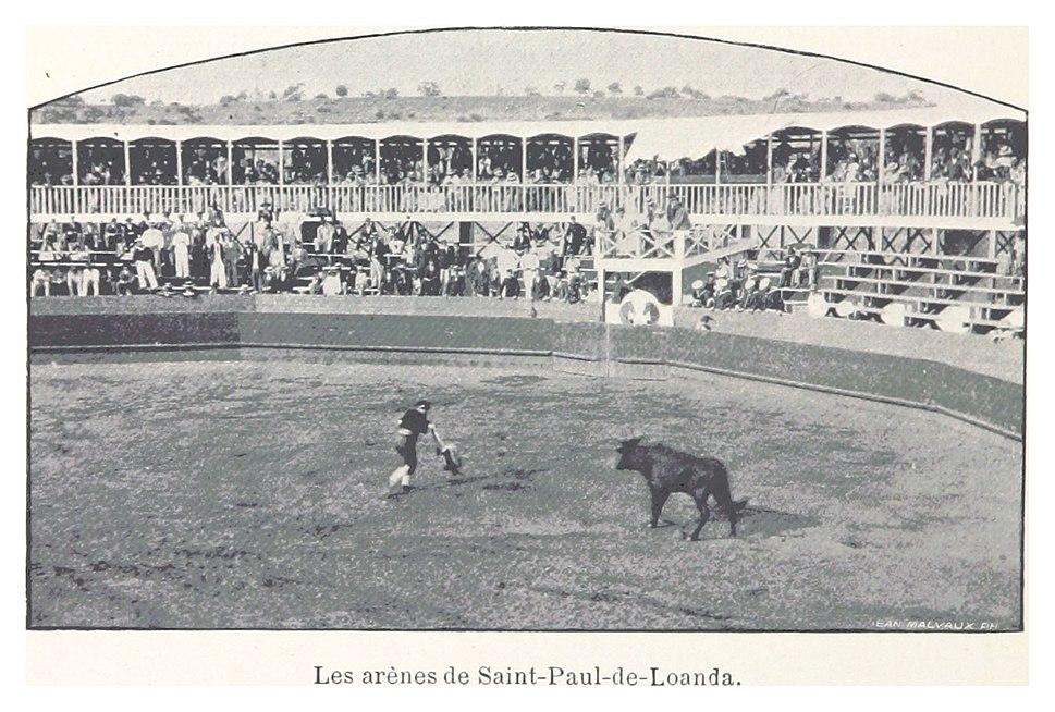 218 Les arènes de Saint-Paul-de-Loanda