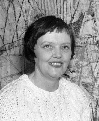 Synnøve Anker Aurdal - Synnøve Anker Aurdal in 1964